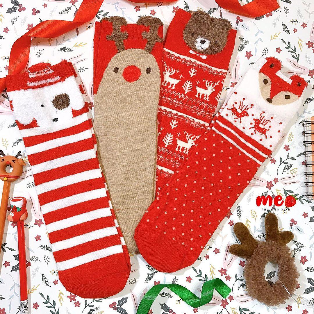 Tất Giáng sinh giá hạt dẻ mà cực yêu, mua để diện hay đem tặng cũng hết ý - Ảnh 5.