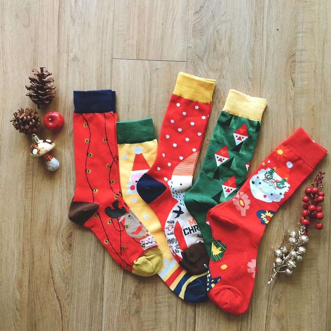 Tất Giáng sinh giá hạt dẻ mà cực yêu, mua để diện hay đem tặng cũng hết ý - Ảnh 4.