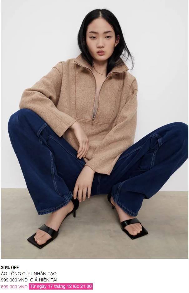 Zara Việt Nam sale mạnh từ tối nay: Những món dưới 1 triệu đáng sắm nhất - Ảnh 9.