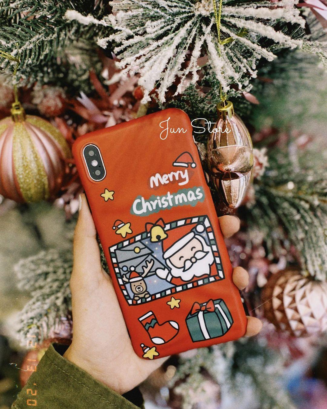 Ốp điện thoại Noel giá từ 60k, toàn kiểu dễ thương khó mà chỉ tậu 1 chiếc - Ảnh 4.