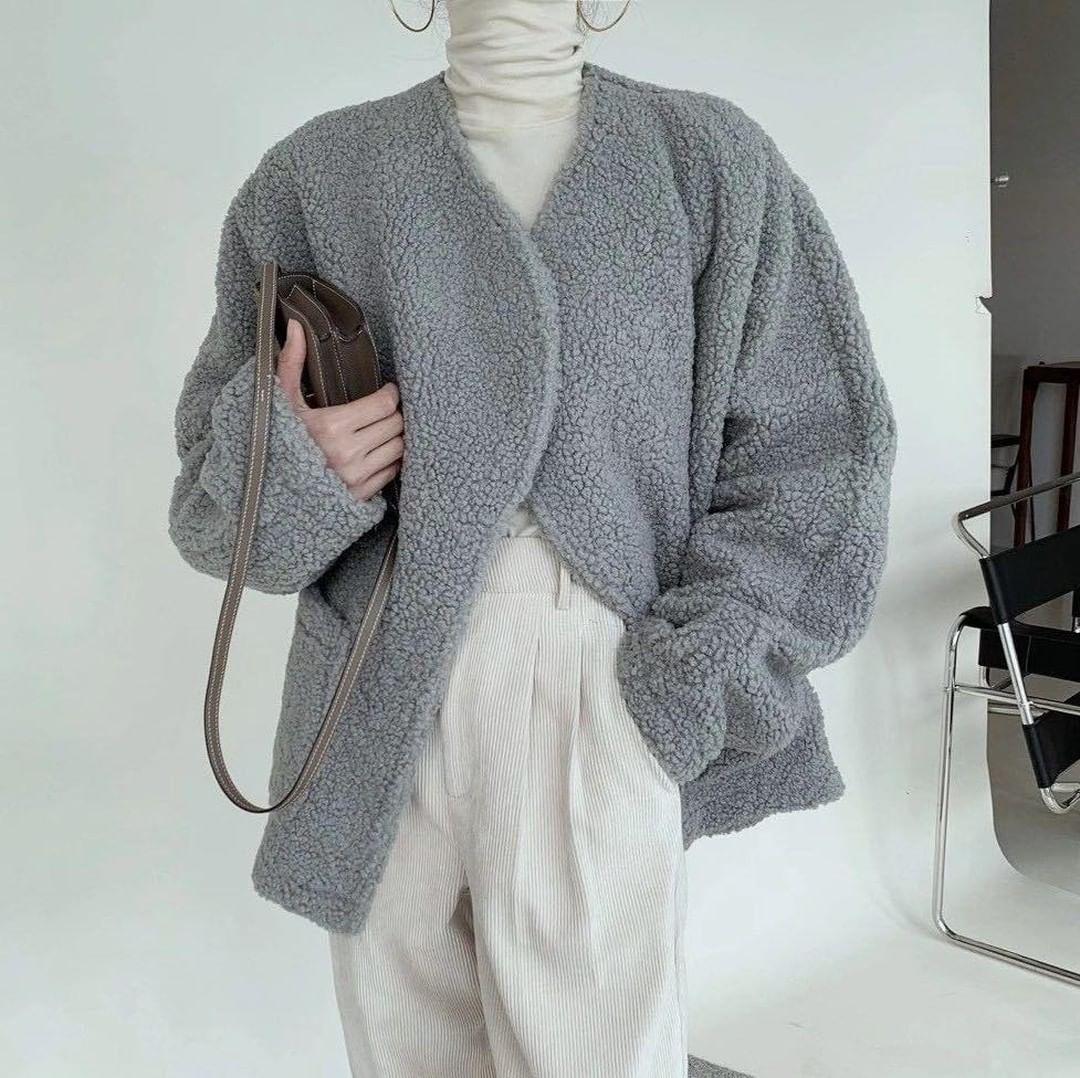 Bỏ ra từ 500k, chị em đã sắm được áo khoác lông siêu ấm, mặc lên max chảnh - Ảnh 7.