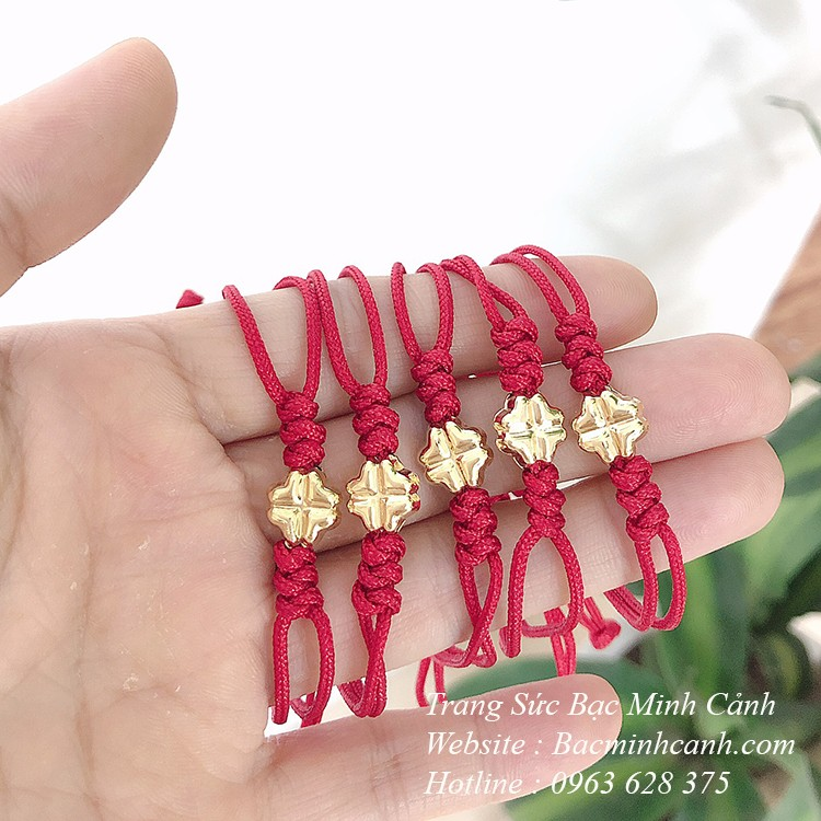Đầu năm sắm vòng tay chỉ đỏ cho cả năm may mắn: Loại 30k hay tiền triệu xịn sò cũng có luôn - Ảnh 6.