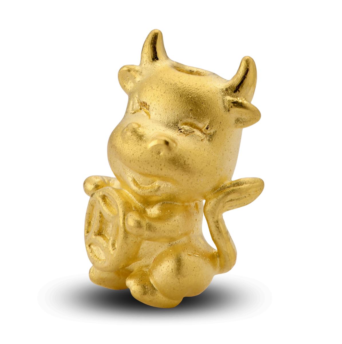 Sắm vòng tay charm vàng Tân Sửu để phát lộc phát tài cả năm: Từ 680k đã chốt được một chú - Ảnh 4.