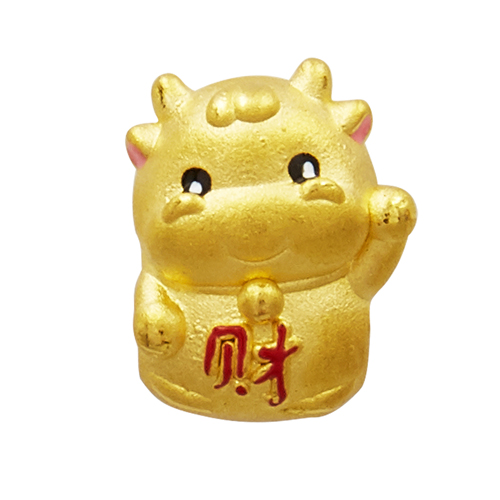 Sắm vòng tay charm vàng Tân Sửu để phát lộc phát tài cả năm: Từ 680k đã chốt được một chú - Ảnh 6.