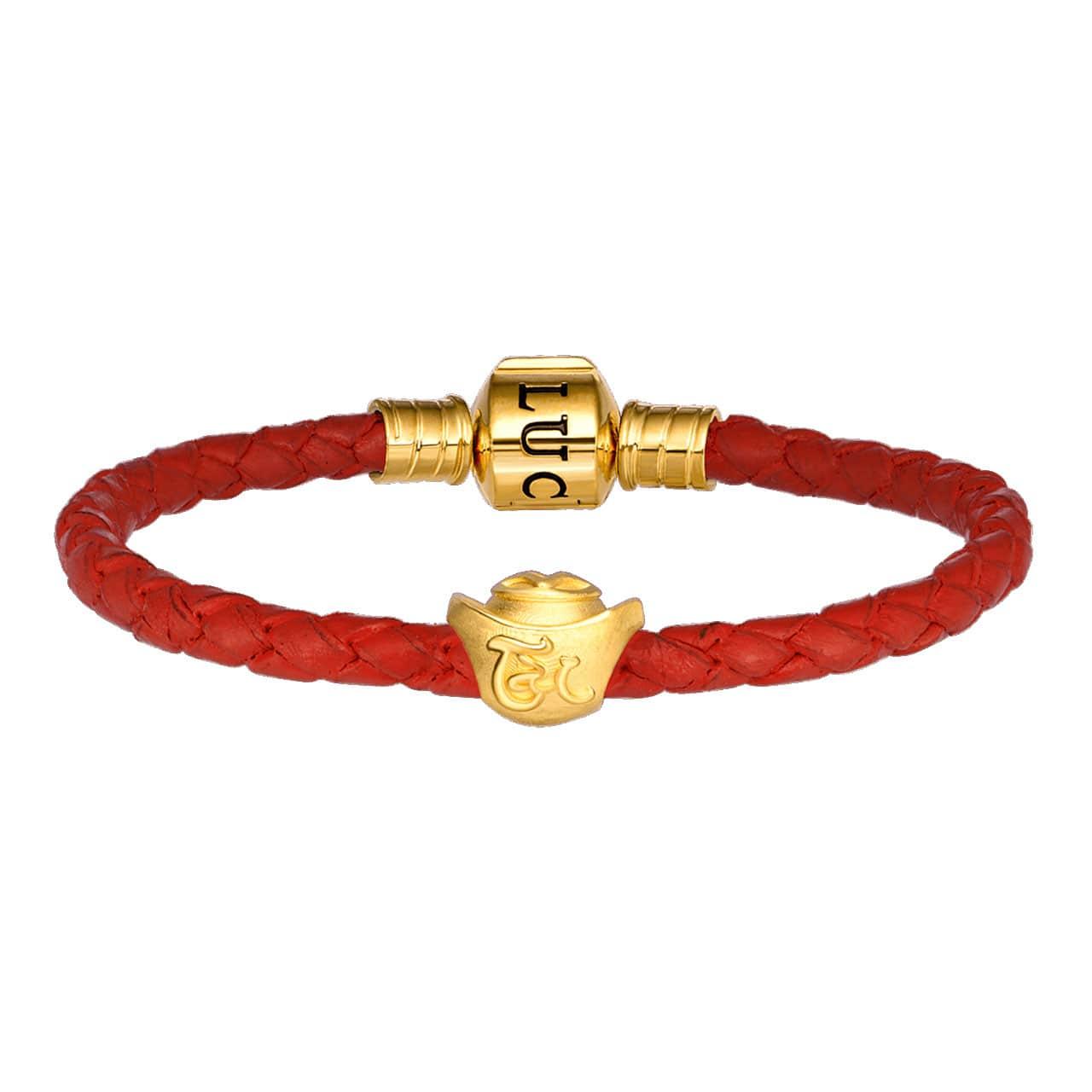 Sắm vòng tay charm vàng Tân Sửu để phát lộc phát tài cả năm: Từ 680k đã chốt được một chú - Ảnh 7.