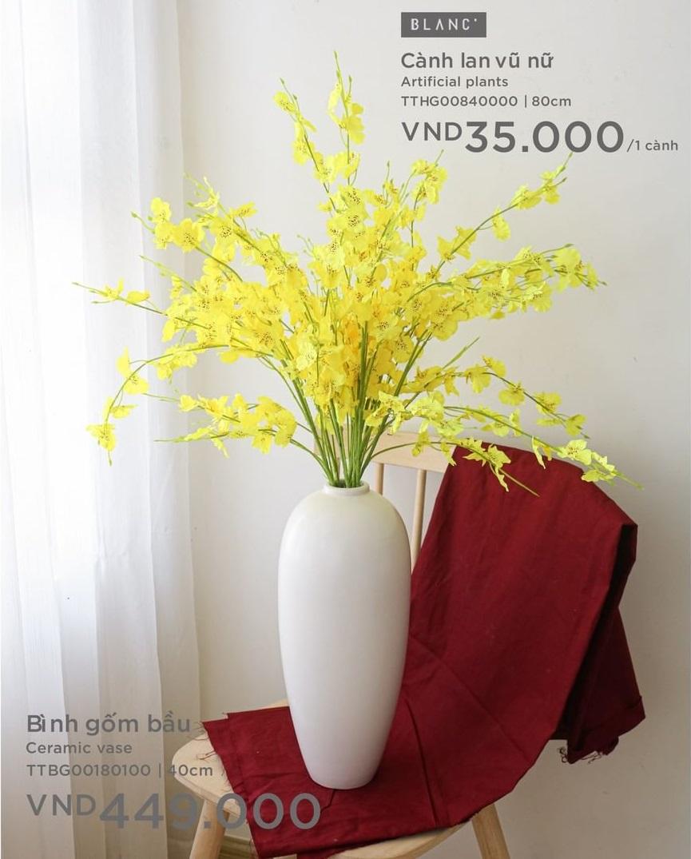 Sắm bình hoa Tết từ 85k: Cắm hoa gì cũng đẹp, vụng mấy cũng được tác phẩm ra trò - Ảnh 7.