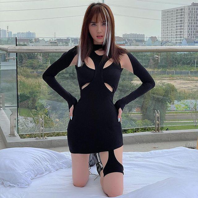 Sao Việt mê đồ local brand giá rẻ: Thiều Bảo Trâm diện nguyên set váy hot trend 520k, Linh Ka sắm áo Tết 320k - ảnh 20