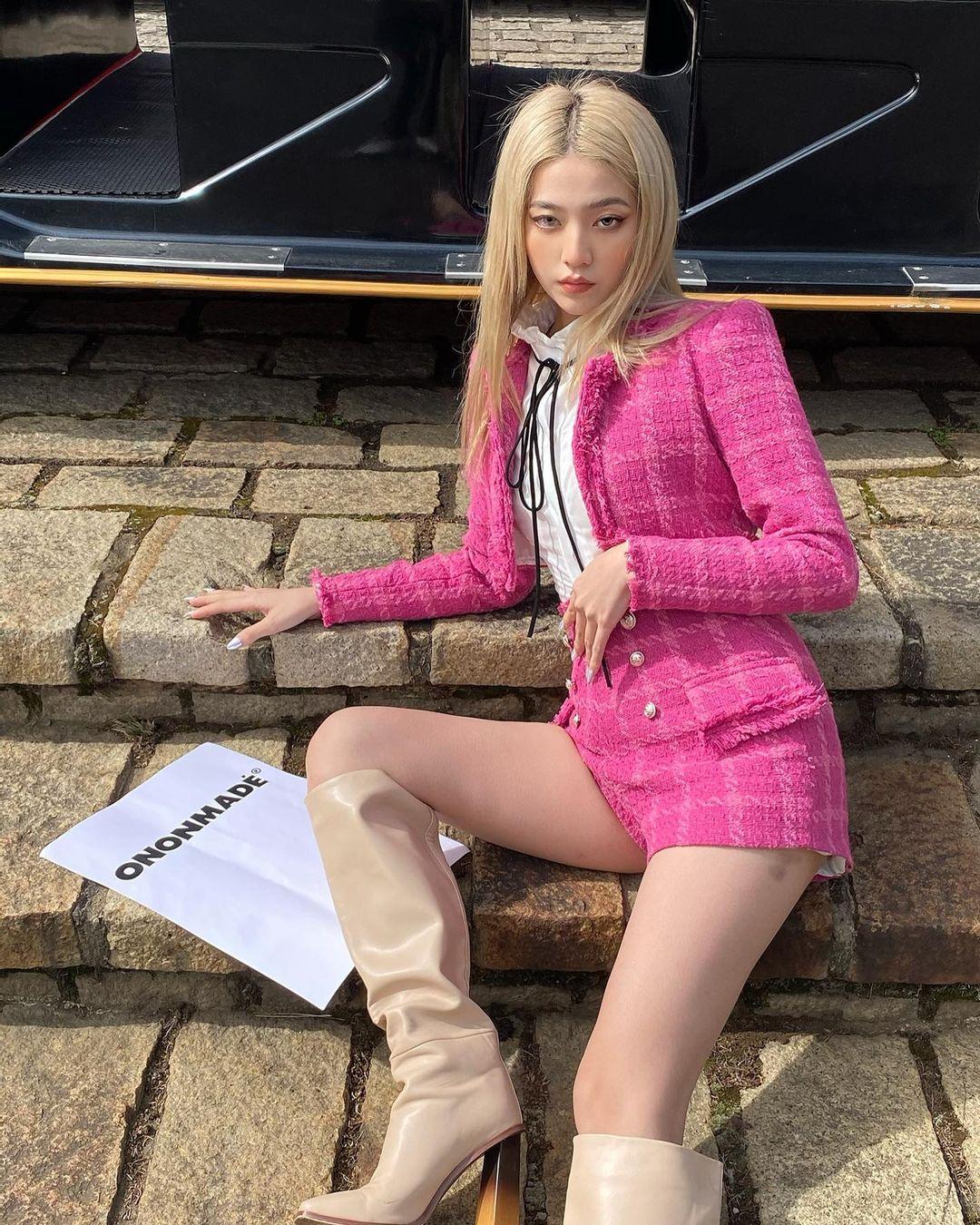 Set váy áo vải tweed đang hot rần rần tại các shop, sắm một bộ chơi Tết đi chị em - Ảnh 7.