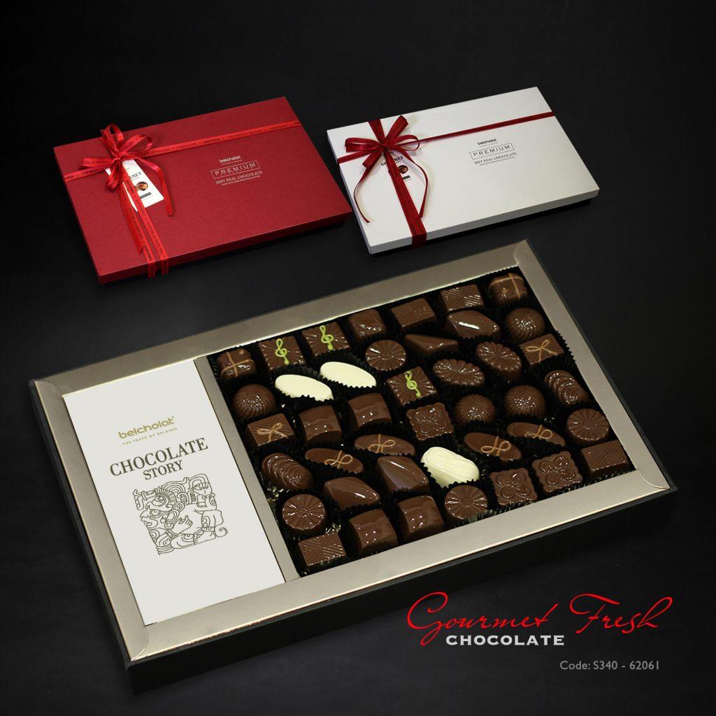 Năm nay nhiều hộp quà chocolate đẹp mắt hết sức, mua biếu Tết ai cũng thích cho xem - Ảnh 2.