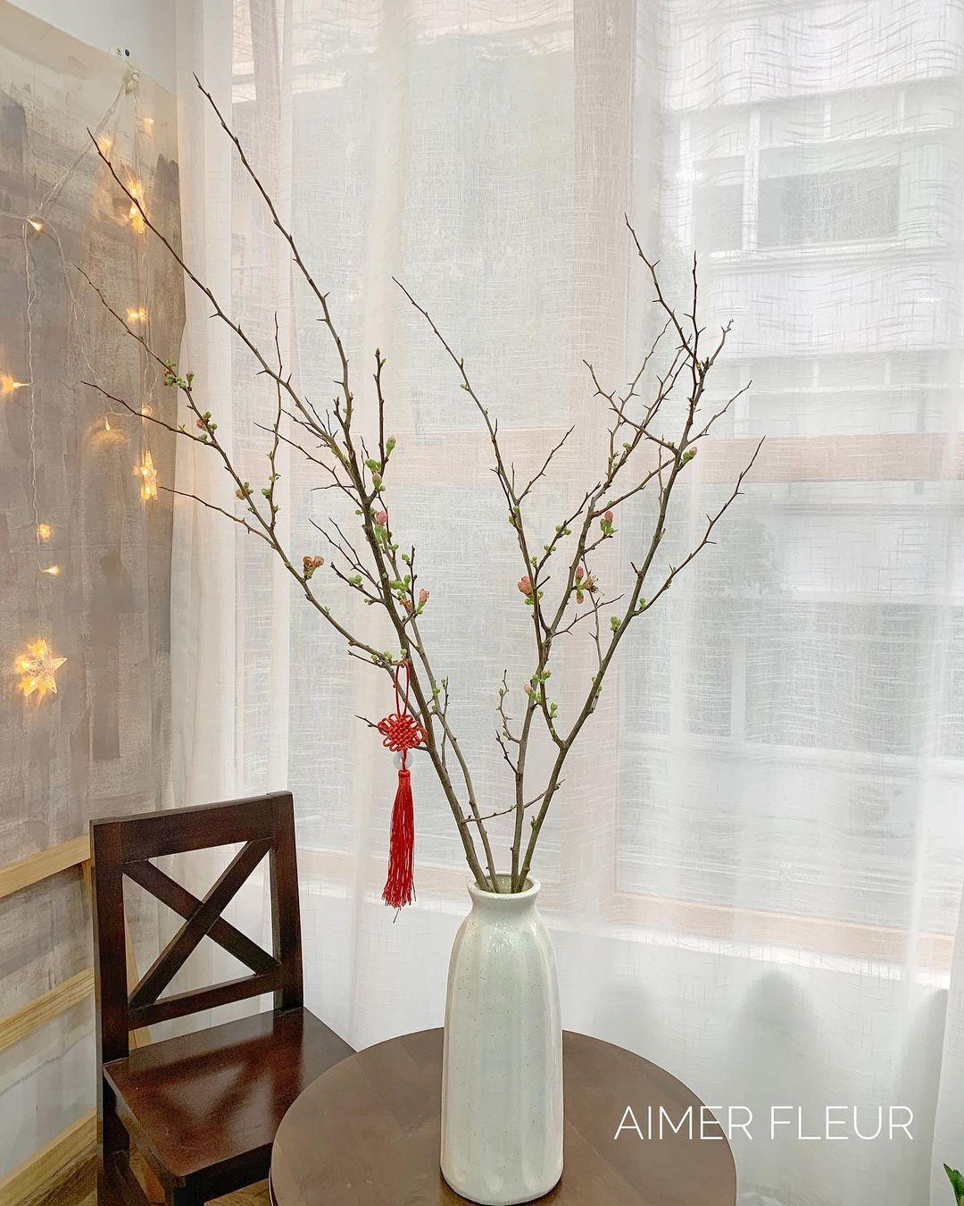 Nàng thơ làng hoa Tết gọi tên đào cam: Đẹp mê ly rụng rời, giá từ 300K - Ảnh 7.