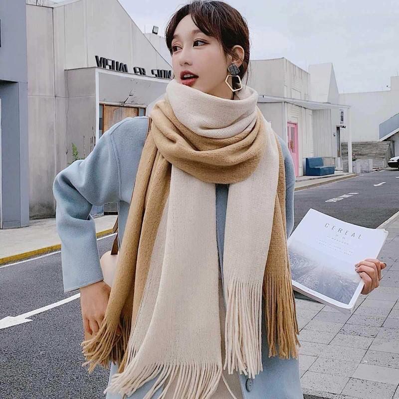 6 khăn len xinh - ấm giá chỉ từ 65k, đọc review xong càng yên tâm mua - Ảnh 1.