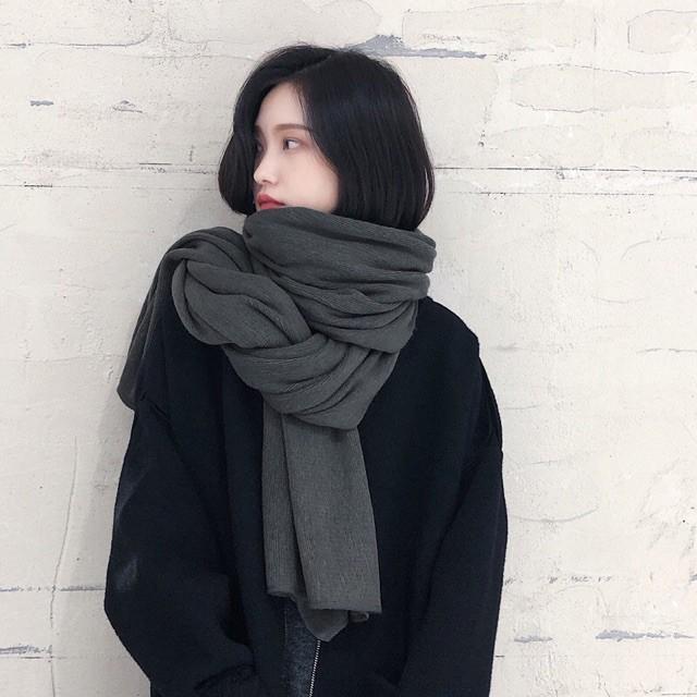 6 khăn len xinh - ấm giá chỉ từ 65k, đọc review xong càng yên tâm mua - Ảnh 5.