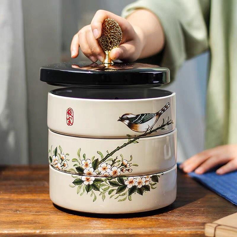 Tết này sắm khay mứt, hộp giấy hoa cỏ chim muông để tiếp khách nhất định được khen sang xịn có gu - Ảnh 7.