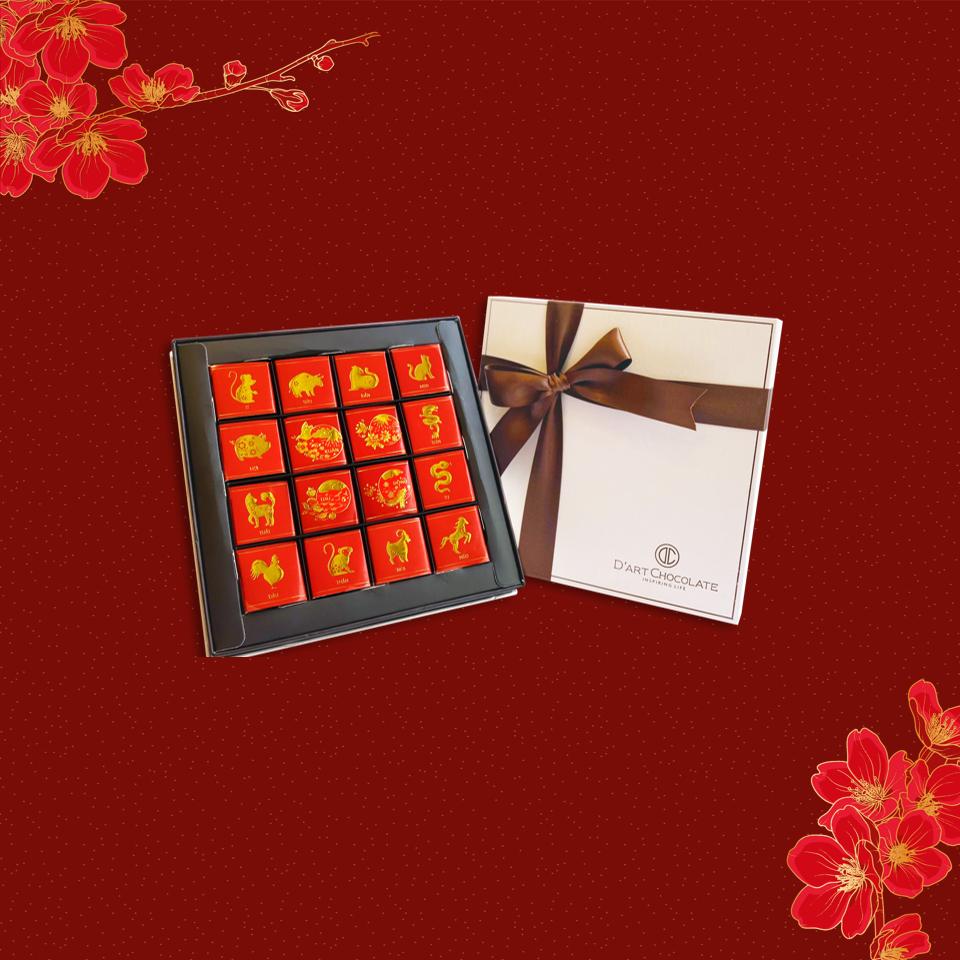 Năm nay nhiều hộp quà chocolate đẹp mắt hết sức, mua biếu Tết ai cũng thích cho xem - Ảnh 5.