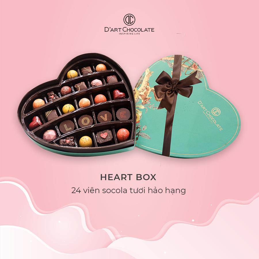 Valentine là phải tặng chocolate: Quà đơn giản nhưng ngọt ngào lịm tim - Ảnh 1.