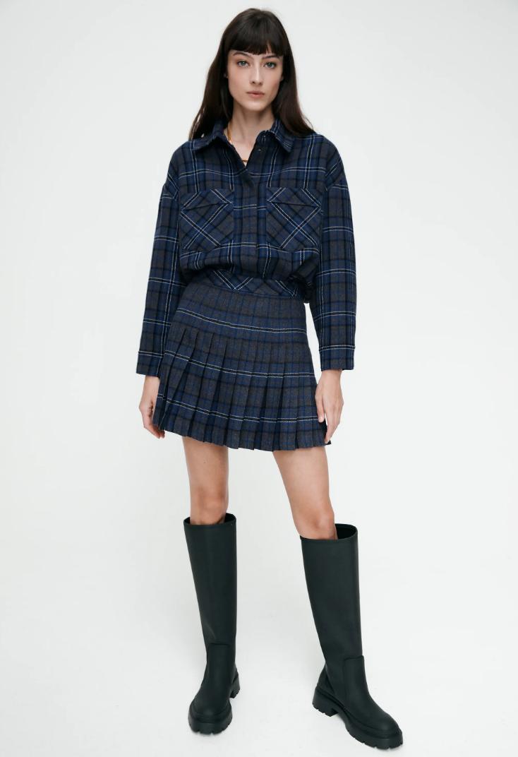 Bỏ ra từ 699K mua chân váy kẻ xếp li xịn xò giống Rosé để xinh suốt năm - Ảnh 5.