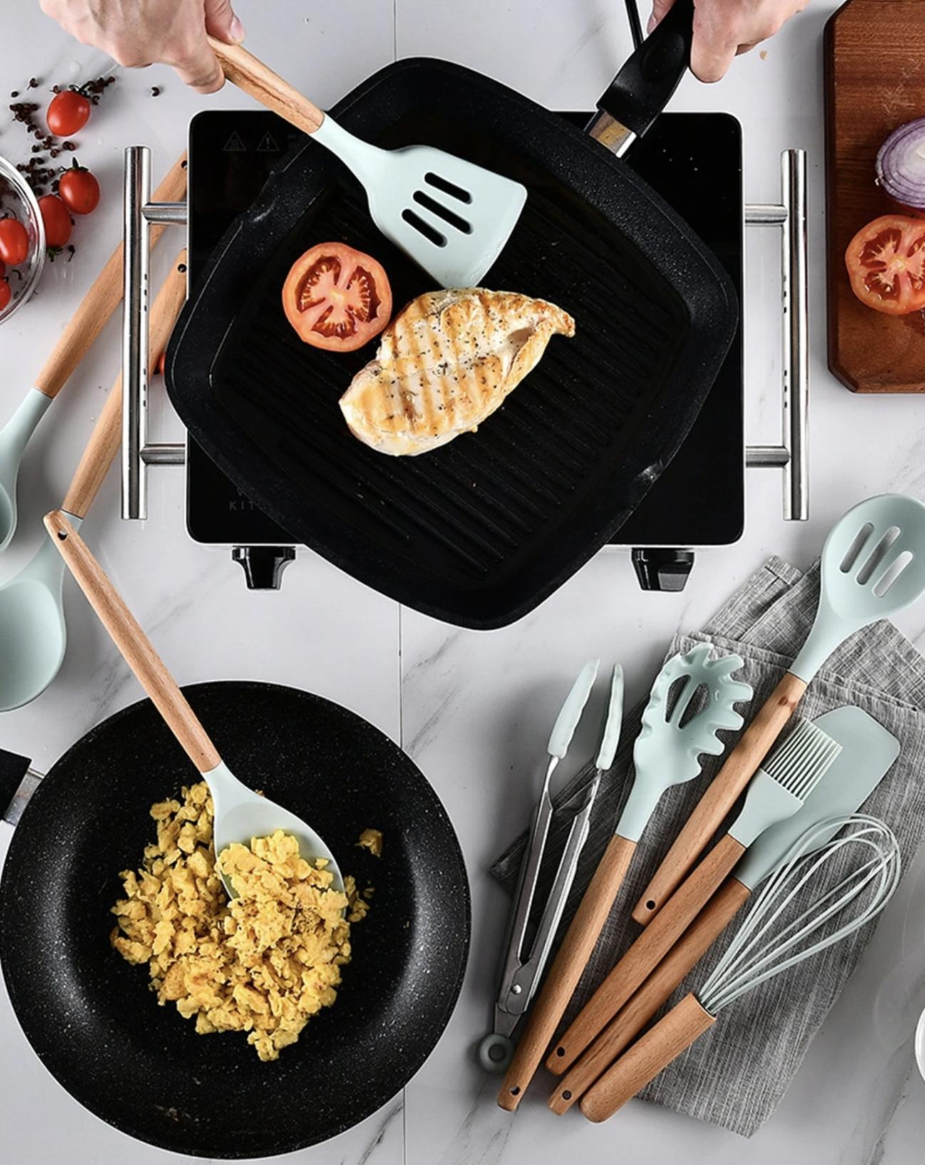 Bộ dụng cụ làm bếp xinh xẻo giúp bạn nấu nướng ngon nghẻ hơn, giá chỉ từ 123k - Ảnh 4.