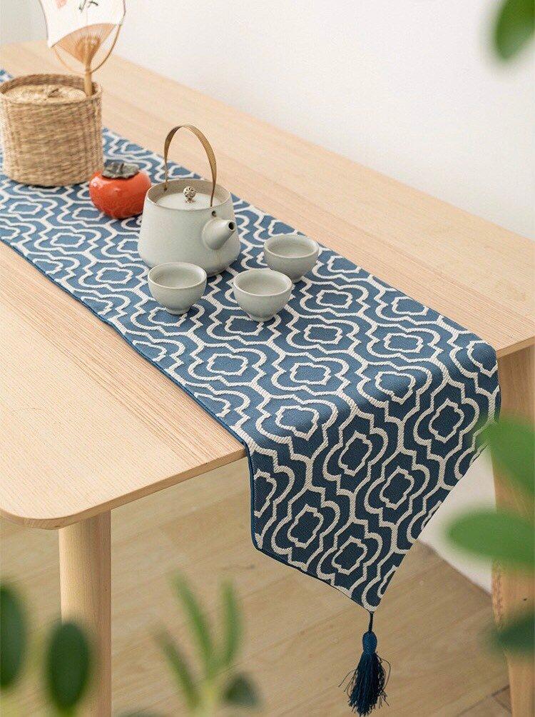 Từ 124K là mua được khăn trải bàn dài cho bàn ăn thêm xịn - Ảnh 5.