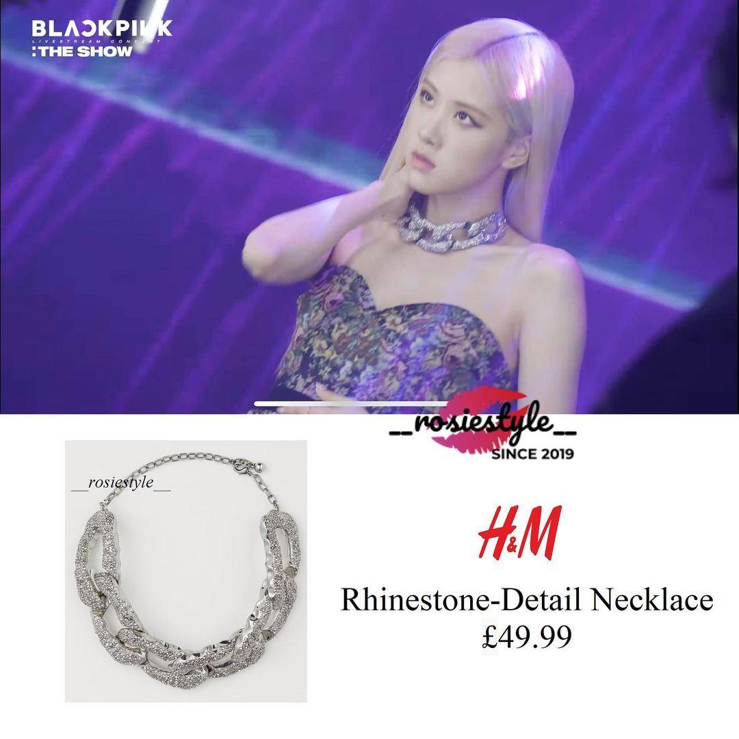 Loạt đồ Zara, H&M sao Hàn vừa diện: Sốc nhất là vòng cổ của Rosé, nhìn như hột xoàn bạc tỷ mà giá chỉ 1,6 triệu - Ảnh 1.