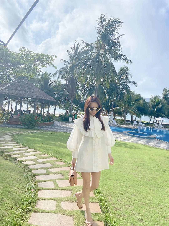 Váy áo local brand sao Việt vừa diện: Váy tiểu thư của Nhã Phương và váy chanh sả của Xoài Non đều chỉ hơn 2 triệu - Ảnh 5.