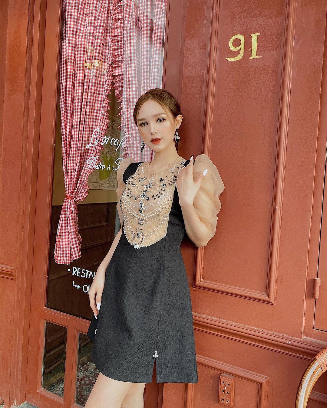 Váy áo local brand sao Việt vừa diện: Váy tiểu thư của Nhã Phương và váy chanh sả của Xoài Non đều chỉ hơn 2 triệu - Ảnh 6.