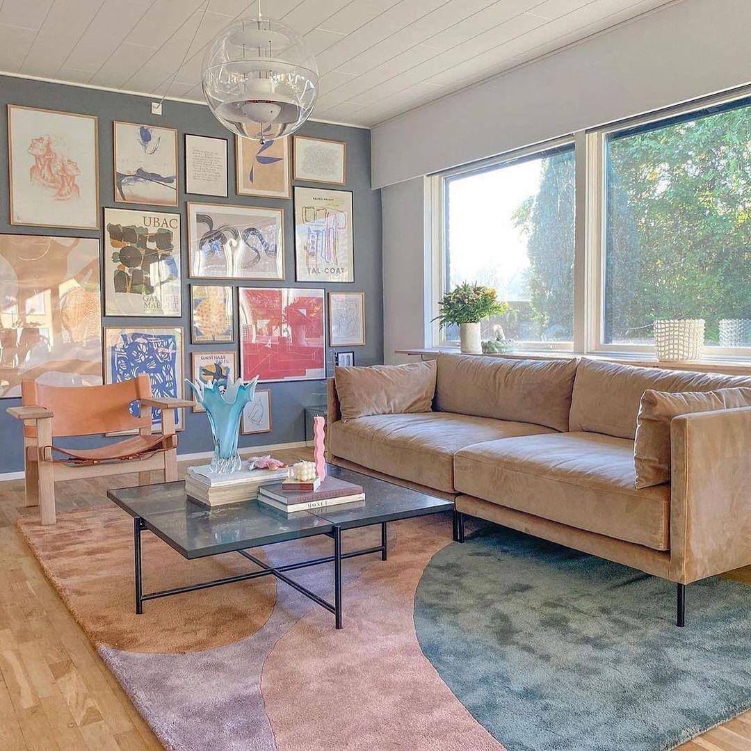"""Ngắm sofa xịn của sao Việt mà mê, ai muốn decor phòng khách sang xịn thì nên sắm 8 """"bé"""" này - Ảnh 10."""