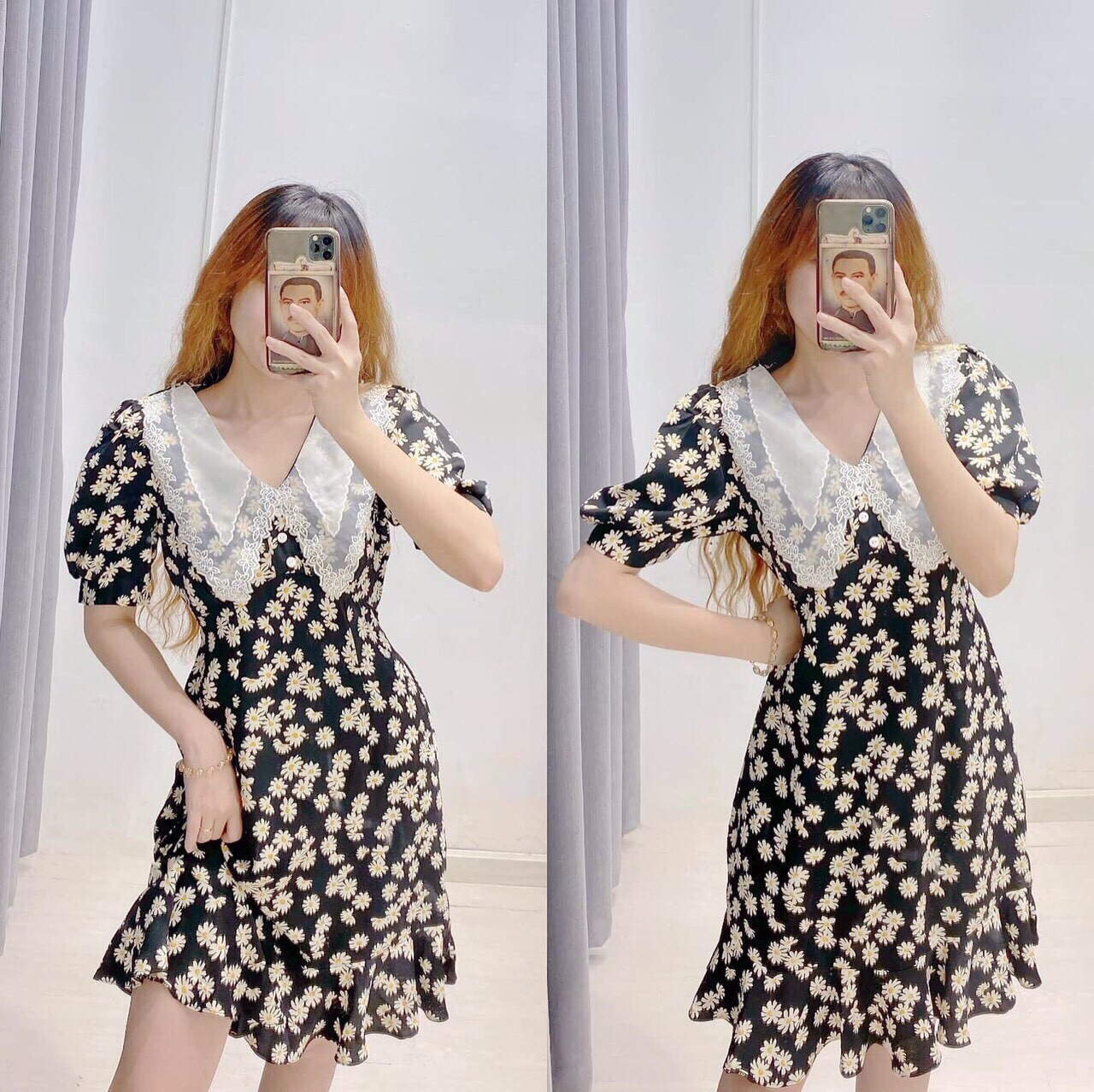 Mê váy hoa cúc hàng hiệu của Rosé thì đây là những mẫu na ná siêu rẻ chỉ từ 65k cho bạn - Ảnh 6.