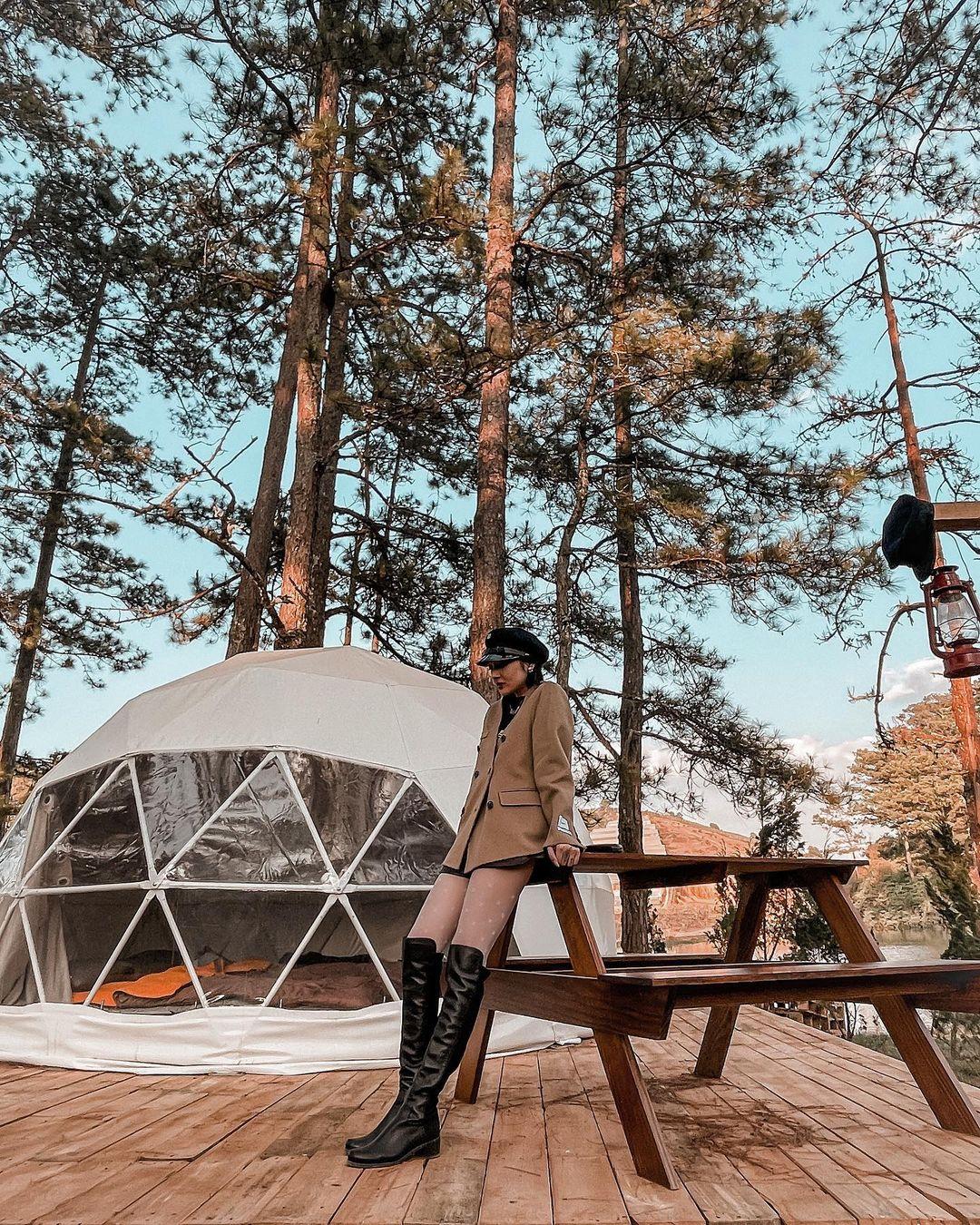 Hà Tăng, Tóc Tiên, Bảo Anh và loạt sao Việt vừa lăng xê cắm trại sang chảnh - trào lưu mới ở Đà Lạt đang khiến giới trẻ rần rần! - Ảnh 16.