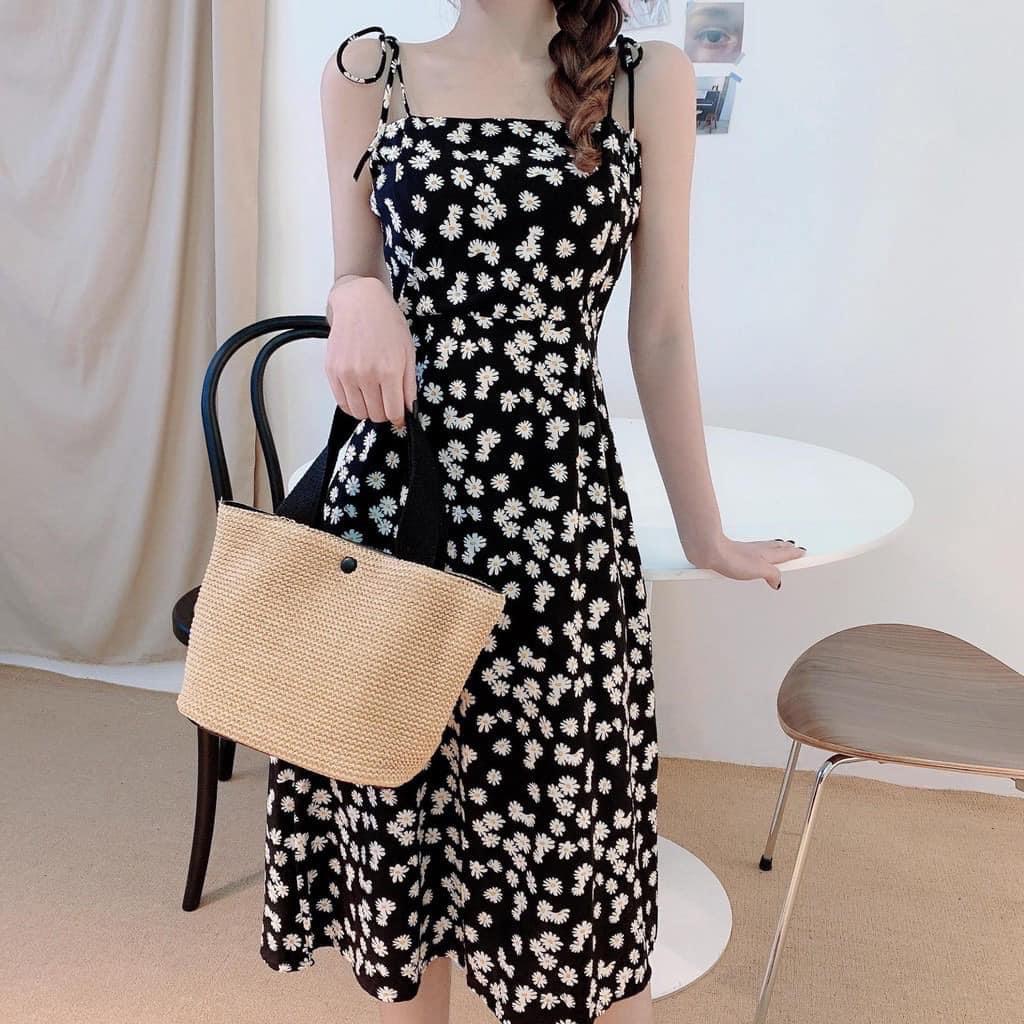 Mê váy hoa cúc hàng hiệu của Rosé thì đây là những mẫu na ná siêu rẻ chỉ từ 65k cho bạn - Ảnh 5.