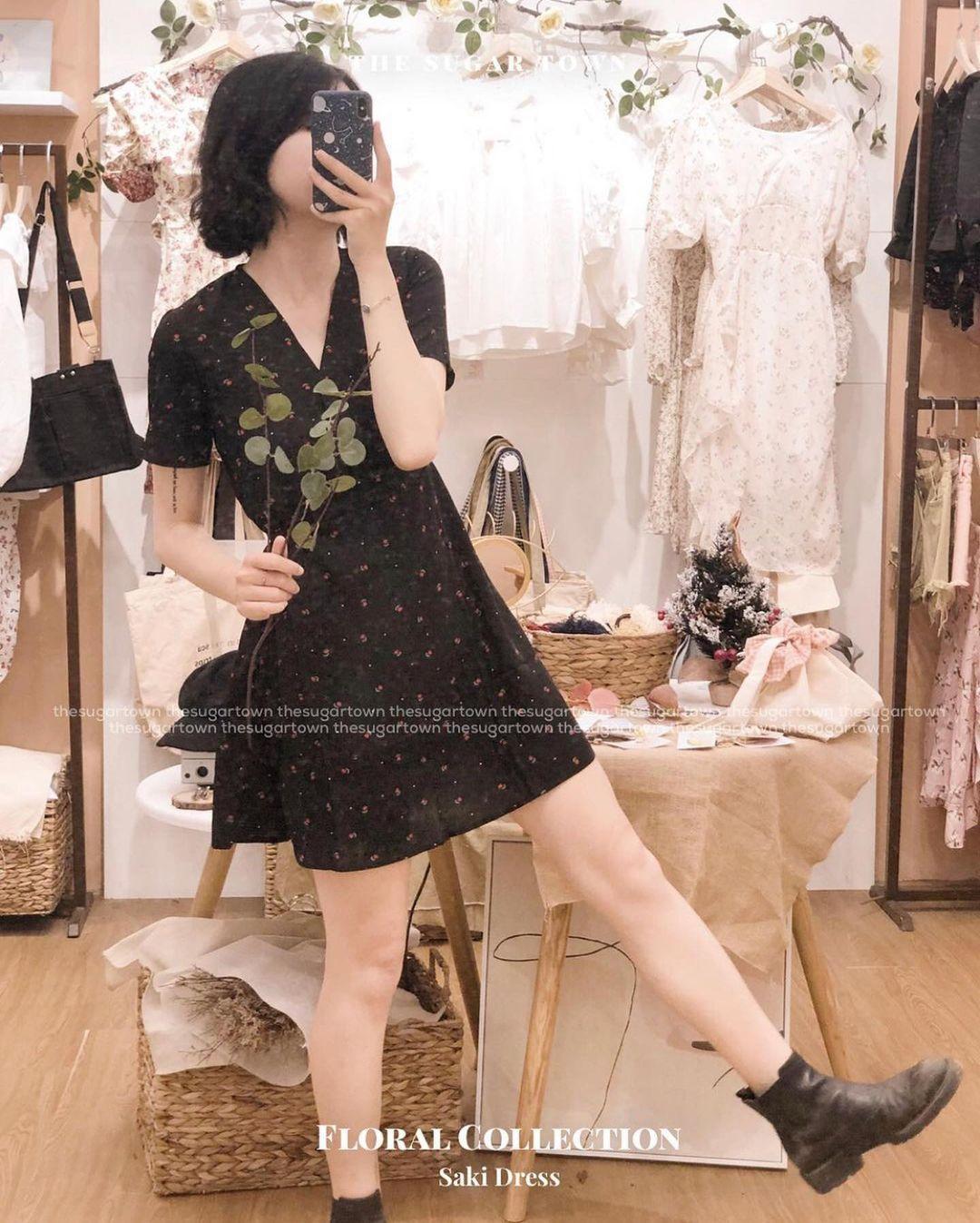 Thiều Bảo Trâm diện váy hoa xinh mê ly, bóc mác mới biết là hàng mua online chỉ 265k - Ảnh 5.