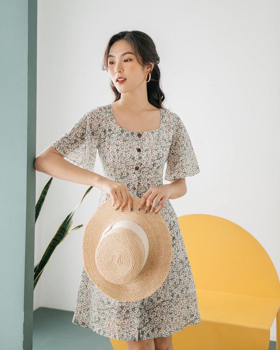Thiều Bảo Trâm diện váy hoa xinh mê ly, bóc mác mới biết là hàng mua online chỉ 265k - Ảnh 7.