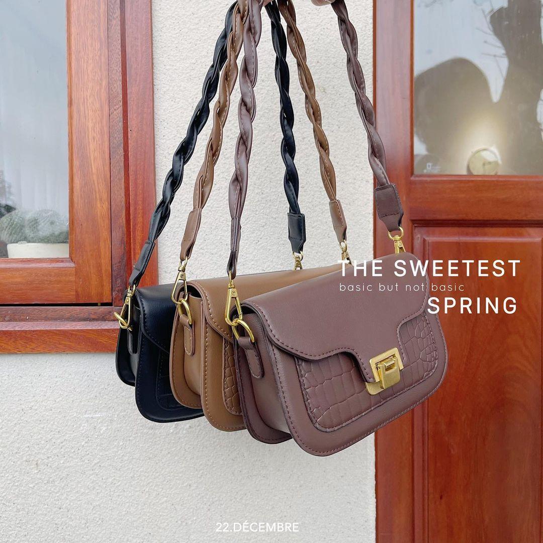 Tổng hợp túi xách rẻ đẹp nhất tại các shop online: Giá chỉ từ 200k mà toàn kiểu trendy sang chảnh - Ảnh 6.