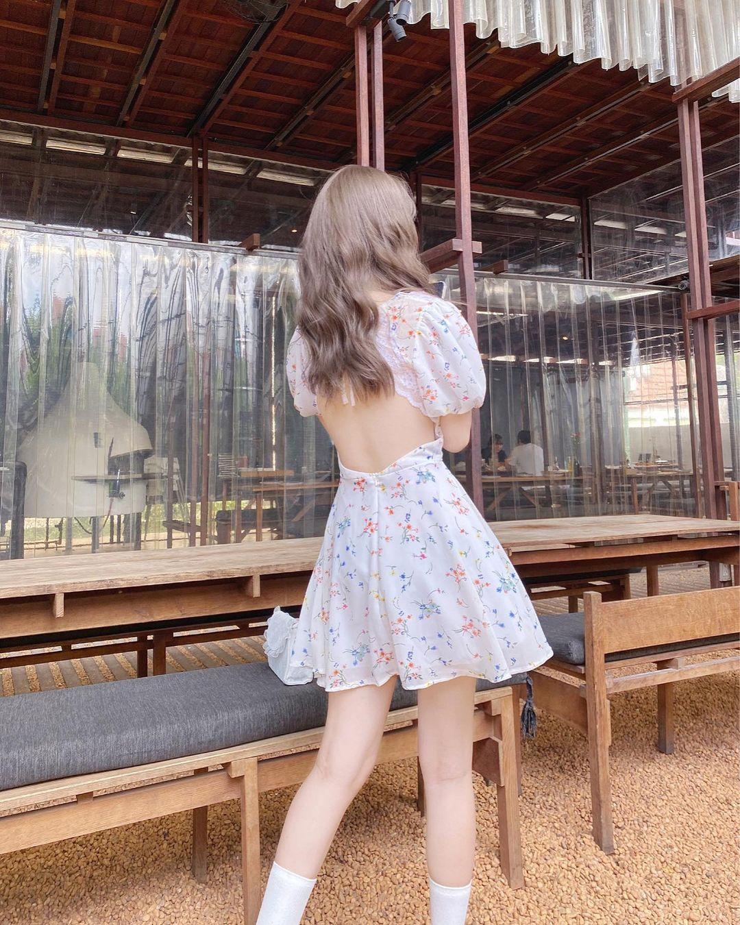 Chỉ từ 240k sắm váy hở lưng xinh yêu sexy lại mát rượi chấp hết nắng nóng Sài Gòn - Ảnh 7.