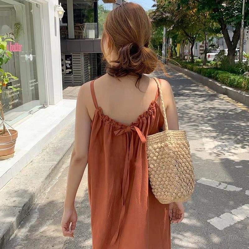 Chỉ từ 240k sắm váy hở lưng xinh yêu sexy lại mát rượi chấp hết nắng nóng Sài Gòn - Ảnh 3.
