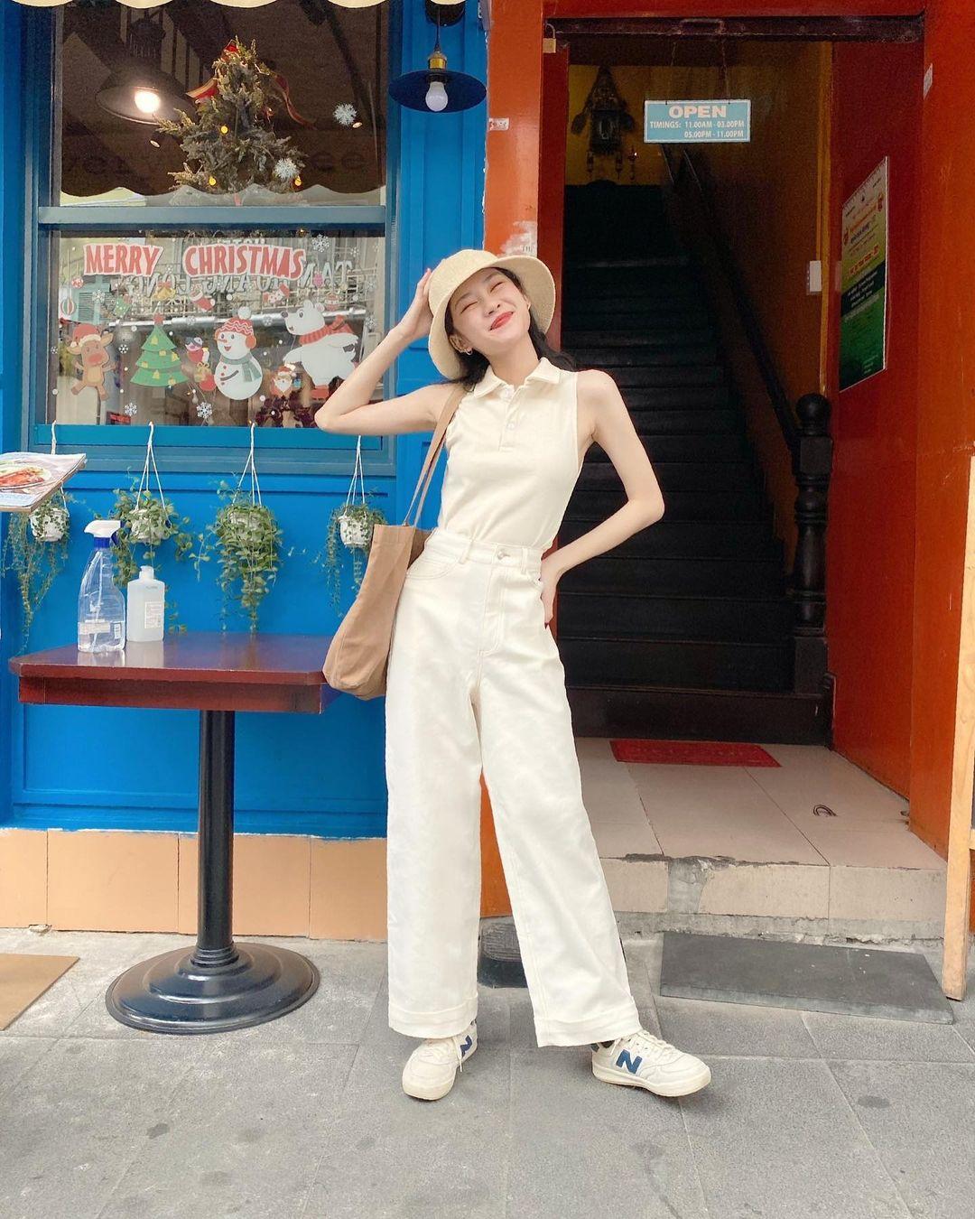 Sài Gòn nóng quá, sắm tank top mát mẻ sành điệu miễn chê thôi các nàng ơi - Ảnh 5.