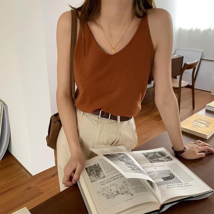 Tổng hợp áo hai dây đáng mua nhất ở các shop: Giá chỉ từ 180k mà xinh như thiên thần - Ảnh 6.