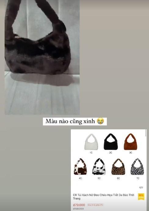 Xoài Non, Linh Ka mách chị em chỗ mua túi rẻ đẹp: Toàn mẫu xinh tươi trendy giá chỉ từ 43k - Ảnh 2.
