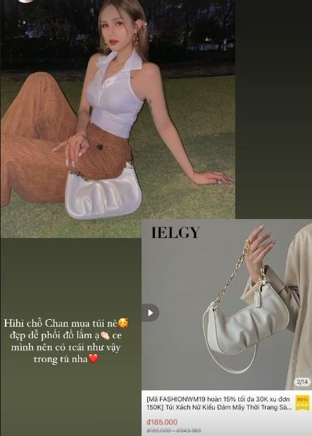 Xoài Non, Linh Ka mách chị em chỗ mua túi rẻ đẹp: Toàn mẫu xinh tươi trendy giá chỉ từ 43k - Ảnh 4.
