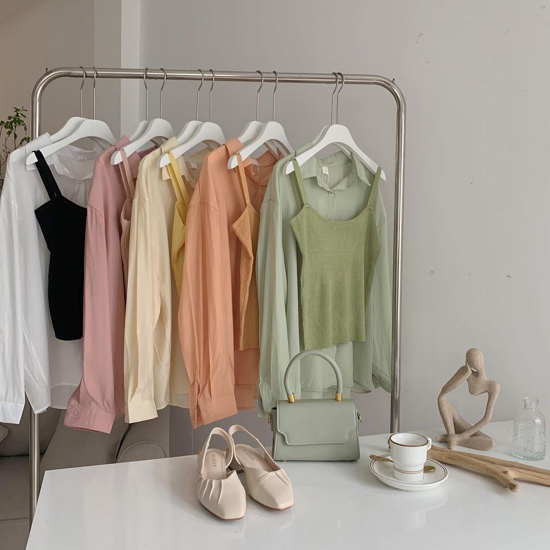 Tổng hợp áo sơ mi oversize đỉnh nhất các shop: Ai muốn style xịn chuẩn Hàn tậu ngay - Ảnh 8.