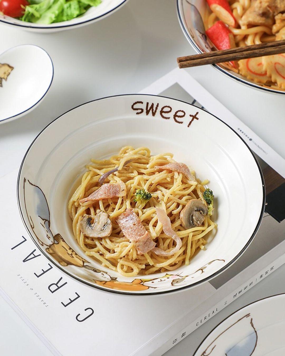 Bắt chước Rosé sắm bát thật xinh để bữa ăn nào cũng ngon lành nịnh mắt - Ảnh 5.