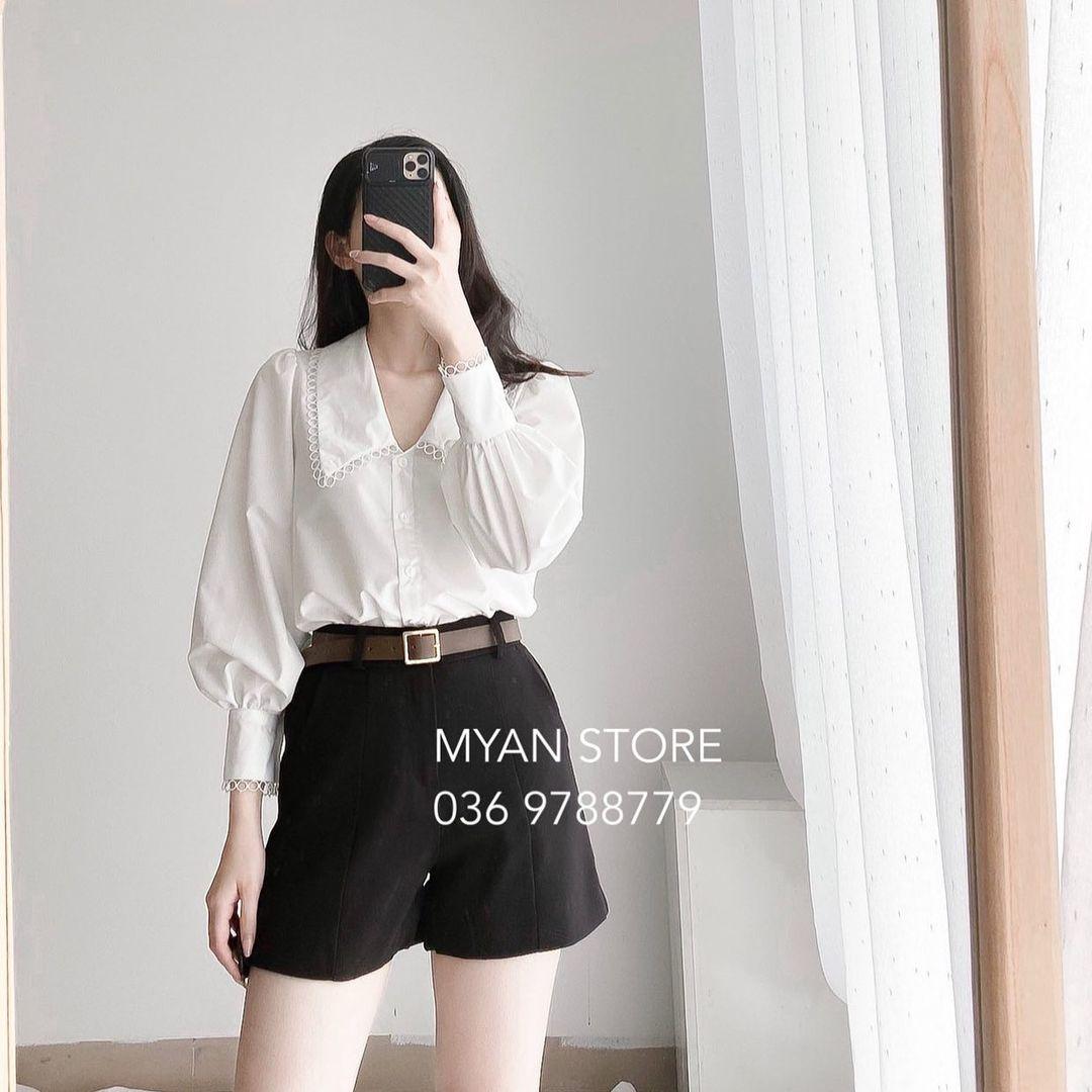 Cùng là 1 mẫu blouse/sơ mi nhưng hội BLACKPINK có cả tỷ kiểu mix, muốn ngây thơ hay sexy ỡm ờ đều ok hết - Ảnh 10.