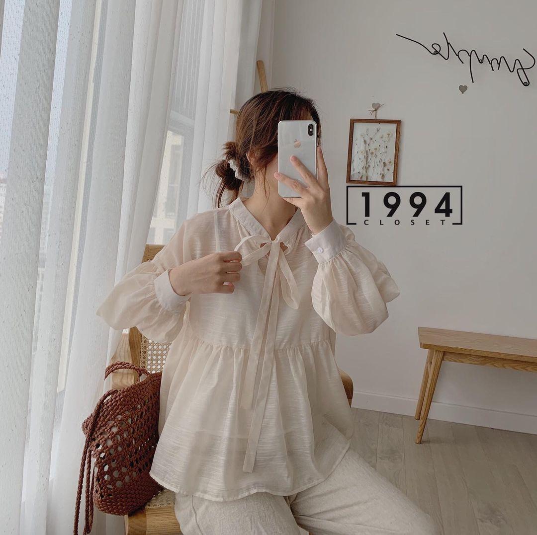 Mách các nàng chỗ mua áo blouse xinh như thiên thần giá chỉ từ 240k - ảnh 13