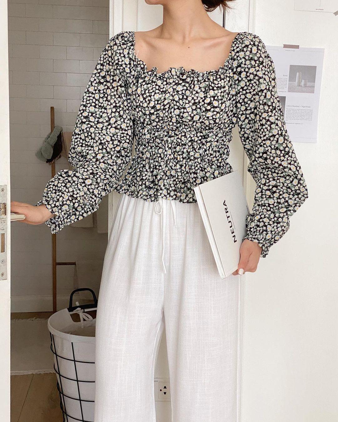 Mách các nàng chỗ mua áo blouse xinh như thiên thần giá chỉ từ 240k - ảnh 7