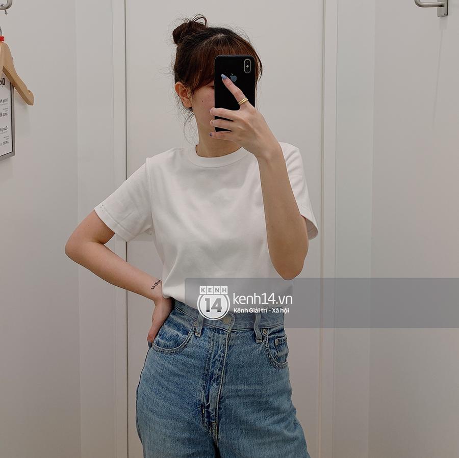 Review thật tâm áo phông trơn ở H&M, Mango, UNIQLO: Giá đều dưới 400K nhưng chất lượng khác nhau thế nào? - Ảnh 8.