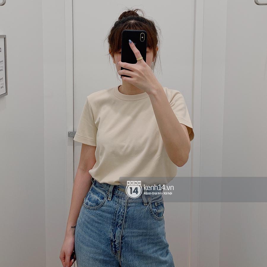 Review thật tâm áo phông trơn ở H&M, Mango, UNIQLO: Giá đều dưới 400K nhưng chất lượng khác nhau thế nào? - Ảnh 7.