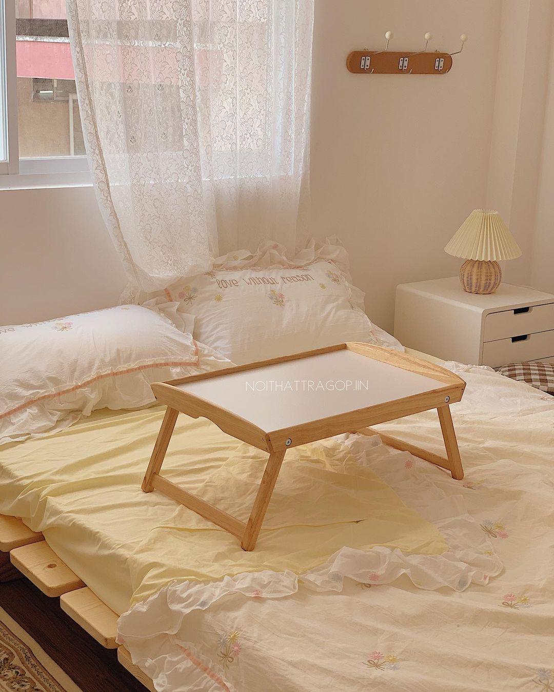 Nhà chật cứ sắm bàn ngồi bệt kiểu Nhật là không hối hận: Gọn mà xinh thế này cơ mà - Ảnh 8.