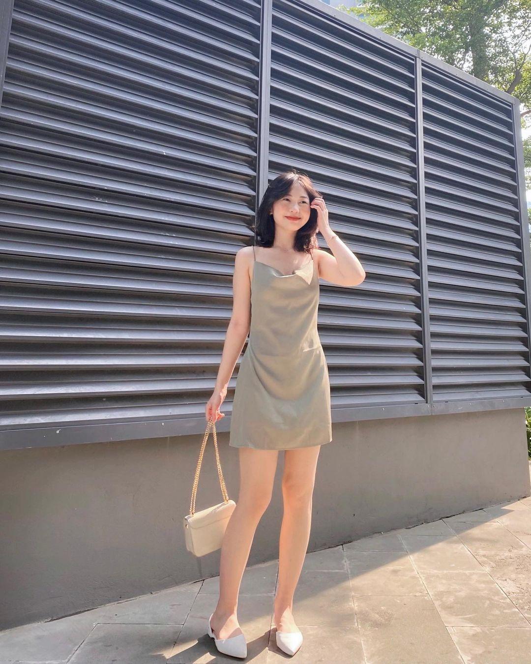 """Các shop đã về bao nhiêu váy hai dây xinh quá trời quá đất, giá chỉ từ 200k mà """"chuẩn đét"""" - Ảnh 7."""