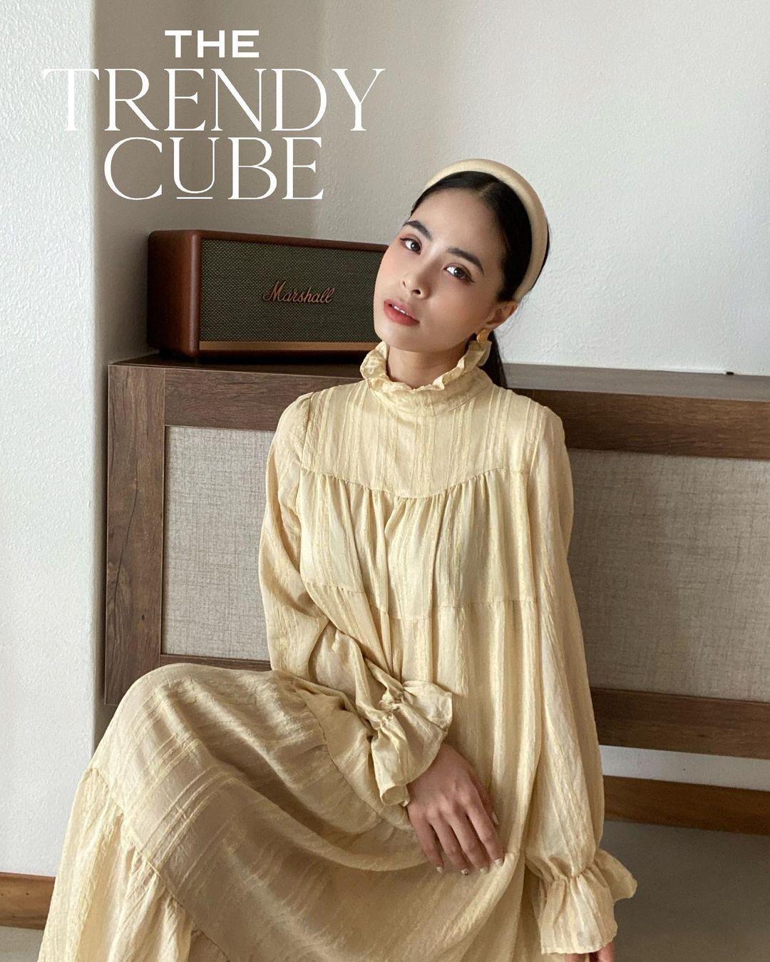 Học ca nương Kiều Anh tậu váy suông oversize giá chỉ vài trăm, mặc mát mà xinh như công chúa - Ảnh 3.