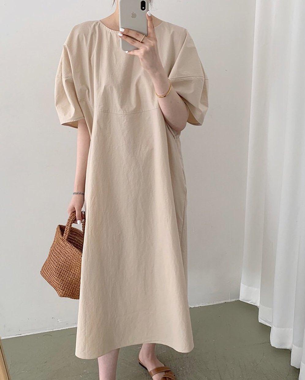 Học ca nương Kiều Anh tậu váy suông oversize giá chỉ vài trăm, mặc mát mà xinh như công chúa - Ảnh 5.