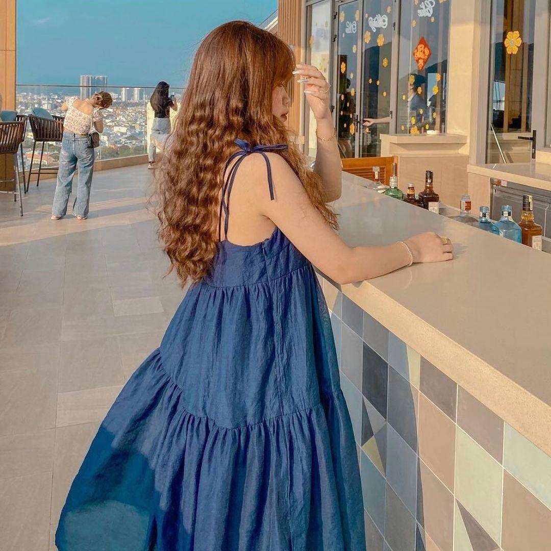 Có 1 mẫu váy đi biển siêu xinh mà từ Hà Hồ tới Kaity Nguyễn đều ưng nổ đĩa, quá hợp để diện đi du lịch luôn! - Ảnh 8.